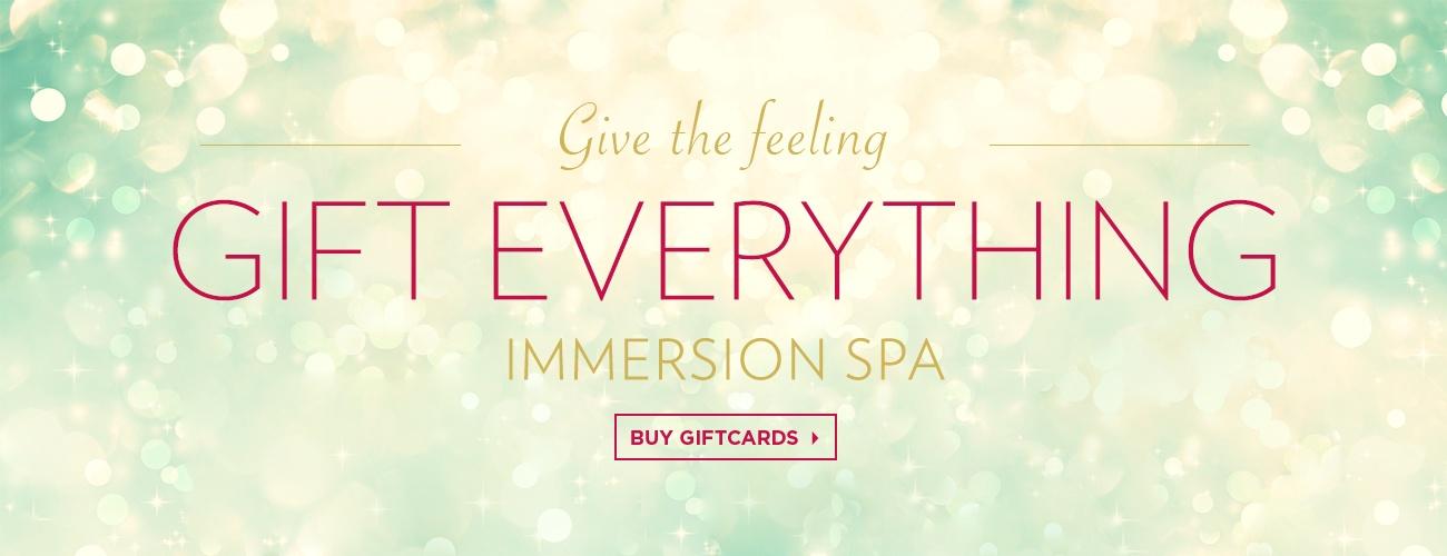 Buy gift certificate Immersion Spa & Massage Palo Alto